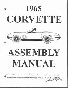 Corvette Assembly Manual 1965