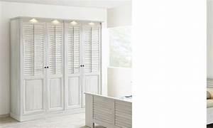 Armoire Bois Blanc : armoire contemporaine couleur bois blanc lanette ~ Teatrodelosmanantiales.com Idées de Décoration