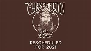 Chris Stapleton Rescheduled Story Graphic
