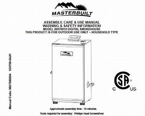 Free Grill And Smoker User Manuals Include Operating