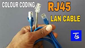 Rj45 Color Coding Connector Cat6 Straight Cable Patch Cord