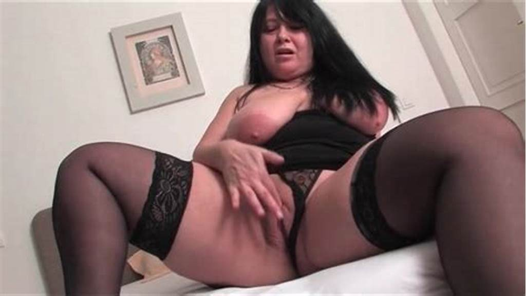 #Black #Chubby #Stocking