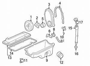 Chevrolet Cavalier Tube  Oil  Seal  Engine  Grommet  2 2