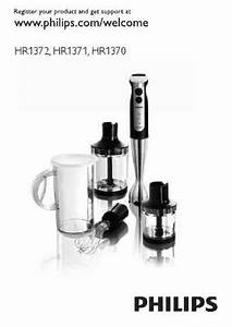 Philips Hr 1371 Mixer Download Manual For Free Now