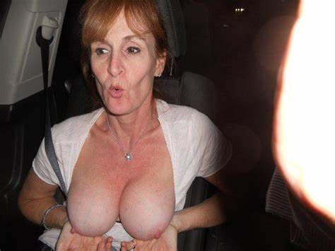 Redheaded Tits Scottish Mature Lady