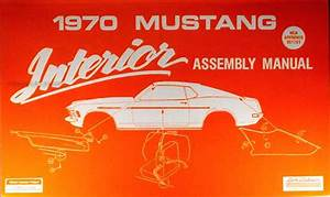 1970 Ford Mustang Mercury Cougar Factory Wiring Diagram Original