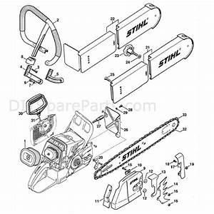 Stihl Ms 460 Chainsaw  Ms460 R  Parts Diagram  Conversion