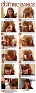 How To Cut Bangs