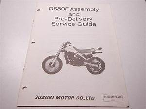 Suzuki Ds80f Assembly And Pre