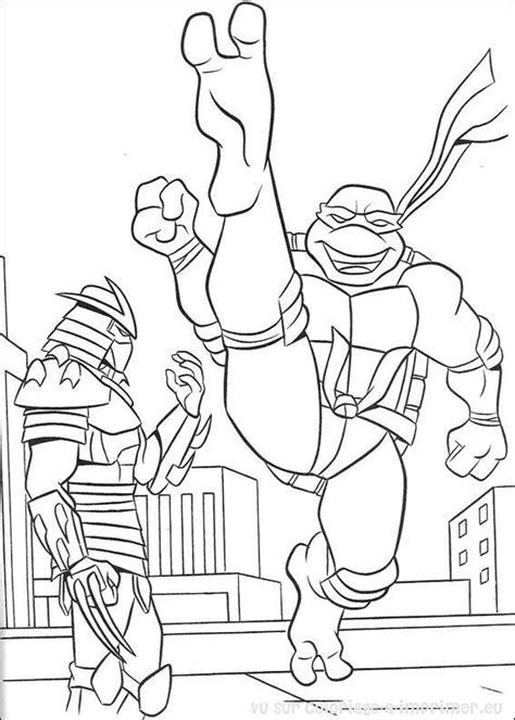 Ninja Turtles #95 (Superhéroes) Páginas para colorear