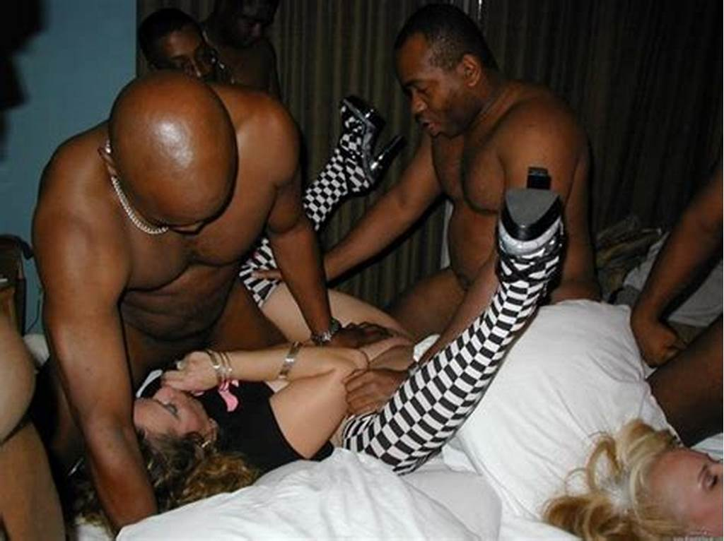 #Interracial #Threesome #Photo #Black #Men #With #Woman