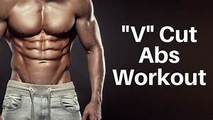 V Cut Abs Workout  No Equipment Needed