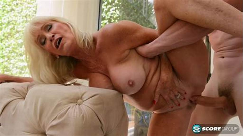 #Beautiful #Mature #Blonde #Leah #Lamour #Craves #A #Cock