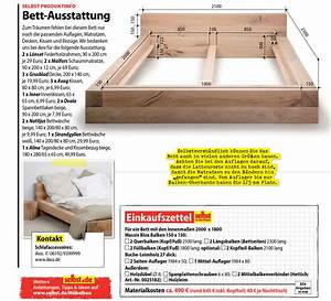Massivholz Bett Selber Bauen Anleitung : balkenbett ~ Watch28wear.com Haus und Dekorationen