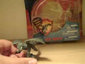 How To Train Your Dragon Red Death (Small) Toy Review ...