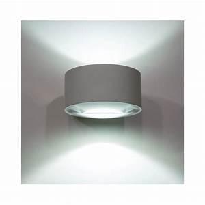 Luminaire Exterieur Mural : applique luminaire mural led lens double faisceau ~ Edinachiropracticcenter.com Idées de Décoration