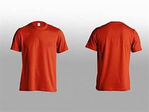 T Shirt Front Back Mockup Mockupworld T Shirt Front And ...