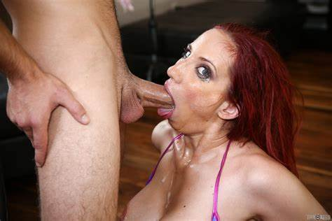 Stepdad Closeup Gaping Mouth Blowjobs Kelly Divine Tongue Fellatio Fucking With Gush