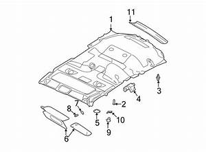 Ford Expedition Headliner Clip  With Sunroof  No  1