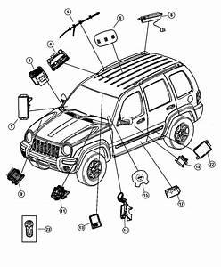 2003 Jeep Liberty Module  Transmission Control  Axle
