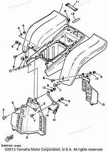 Yamaha Atv 1994 Oem Parts Diagram For Rear Fender