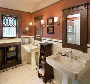 bathroom1 hill house craftsman bathroom new york With arts and crafts bathroom ideas