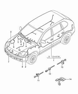 Porsche Cayenne Wiring Harness