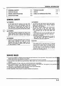 Honda Nsr 125 Service Manual Pdf Download - Service Manual