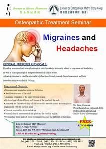 Osteopathic Treatment Seminar  U2013 Migraines And Headaches