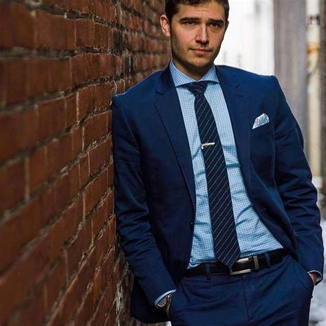 All you have to do is log in to your favorite online shopping portal and type 'suits' on the search tab. Jason from @oxfordandhenley rocking a crisp navy suit with ...