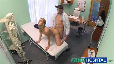 Sultry Redhead Victoria Makes A Sexual Deal With Her Doctor