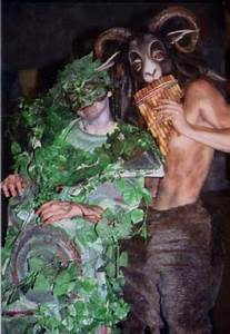 18  The Green Man  U0026 Satyr  Characters From Carnival  A