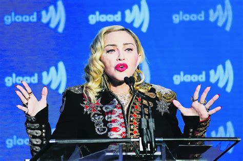 Madonna turpina atcelt koncertus - Mūzika - nra.lv