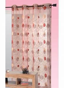 Voilage Gris Et Blanc : rideau voilage gris et rouge de collection avec voilage ~ Dailycaller-alerts.com Idées de Décoration