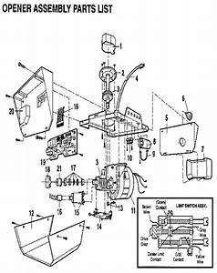 Craftsman Door Opener Wiring Diagram : craftsman garage door opener 1 2 hp parts dandk organizer ~ A.2002-acura-tl-radio.info Haus und Dekorationen