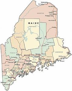 77 Kb Jpeg Maine Wall Map A Spectacular Physical Map Of Maine