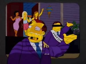 "The Simpsons Screenshot Showcase, ""Bart After Dark"" Season ..."