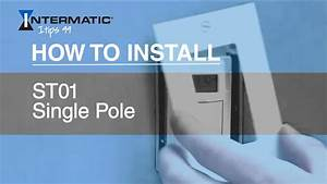 Intermatic St01c Single Pole Time Switch Installation