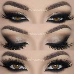 Neutral & Dramatic Smokey Eyes Makeup Tutorial!   Make ups ...
