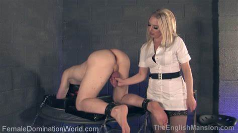 Adorable Spex Mistress Massaging Penis Officer Prostate Milking