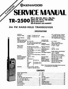 Kenwood -- Tr-2500