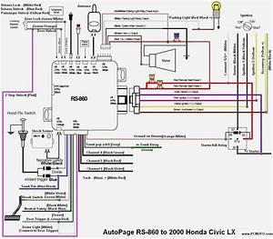 2002 Honda Civic Wiring Diagram Radio
