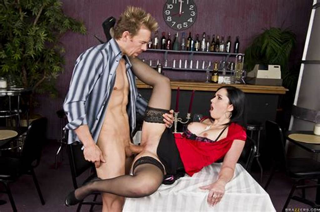 #Romantic #Evening #In #The #Restaurant #With #Busty #Angell