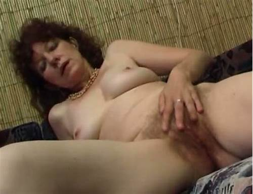 Hairy And Large Tittied Woman Rubbing Her Assfuck