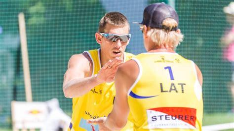 Jūrmalas posma kvalifikācijā spēlēs četri Latvijas pāri ...