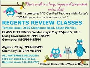 Regents Review Classes Massapequa Ny Patch
