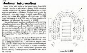 Beaver Stadium Seating Chart Beav