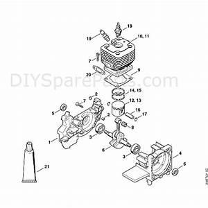 Stihl Fs 400 Clearing Saw  Fs400k  Parts Diagram  A
