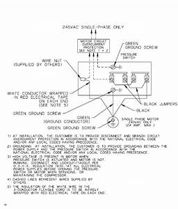 Single Phase Air Compressor Wiring Diagram