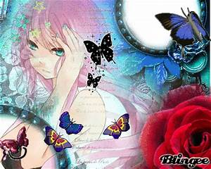 Anime girl with Pink hair and Bluu eyes no.2 Picture ...